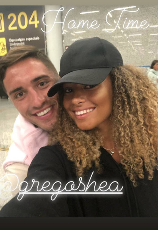 Greg and Amber won Love Island, despite only being together for two weeks