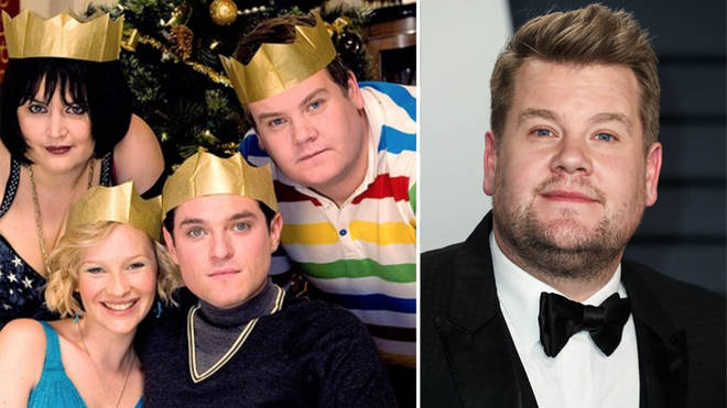 James Corden has revealed more details about the writing process of the script
