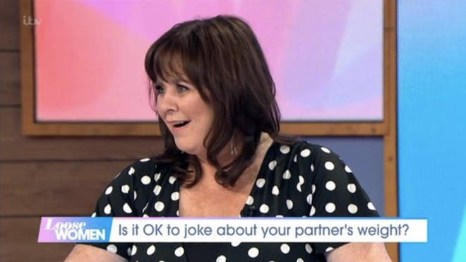 "Coleen Nolan was shocked after Nadia accidentally called her ""fat"""