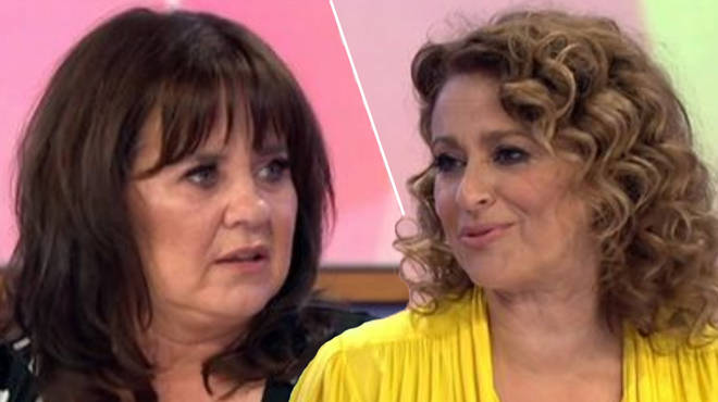 Loose Women fans shocked after Nadia Sawalha accidentally calls Coleen Nolan fat