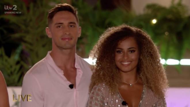 Amber and Greg walked away winner of Love Island 2019