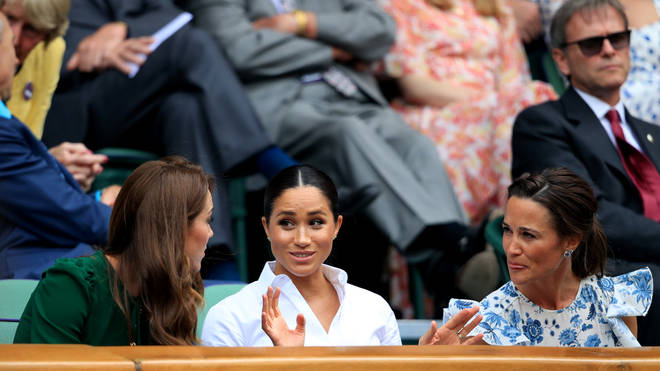 Meghan Markle reportedly accused a man of taking her photo at Wimbledon