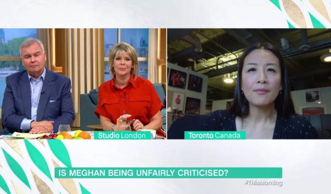 Eamonn criticised Meghan's behaviour on This Morning earlier today