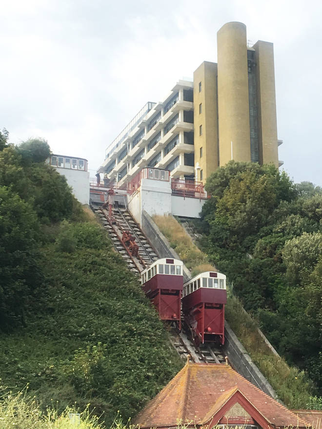 The Grade II Listed funicular was once one of Folkestone's biggest attractions