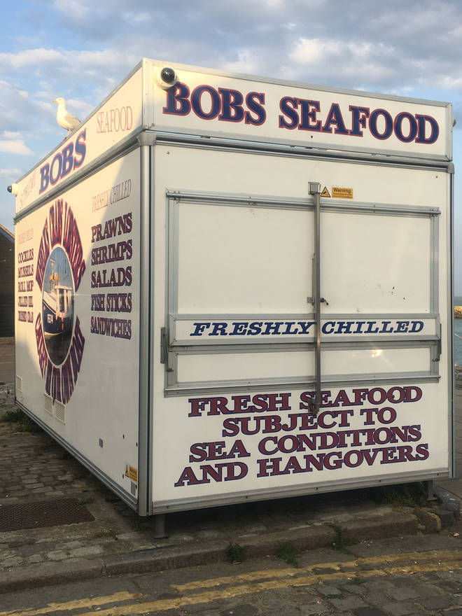 Bob's Seafood is a local institution selling fresh locally caught delicacies every day