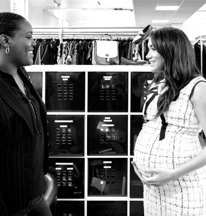 Meghan Markle worked with Smart Works throughout her pregnancy