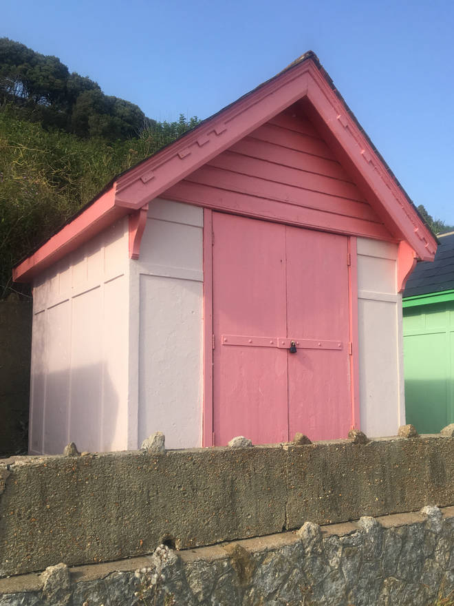 The candy coloured beach huts are great for social media feeds, too!