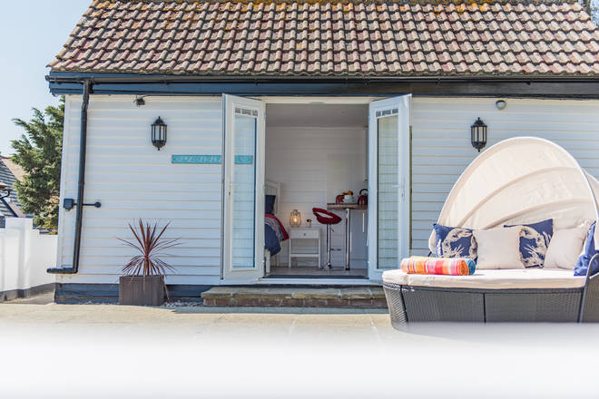 Pebbles is a lovingly restored Victorian-era beach hut
