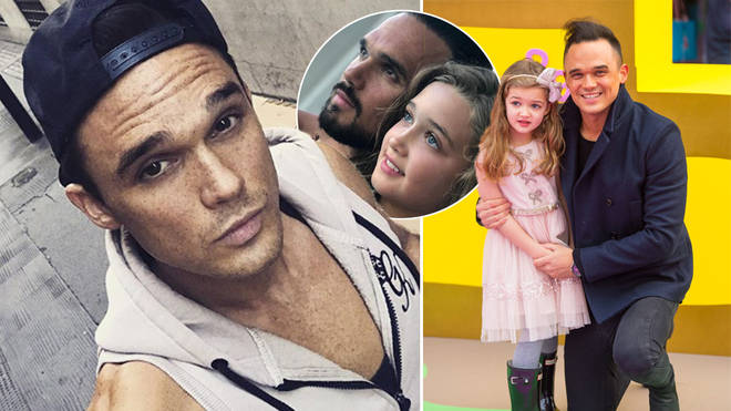 Gareth Gates has shared a rare snap of his daughter