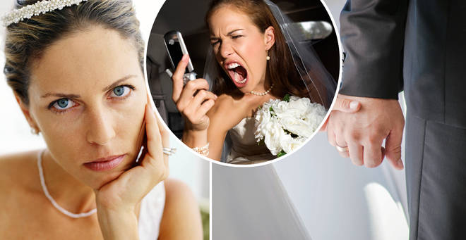 The bride said he 'ruined the wedding' (stock images)