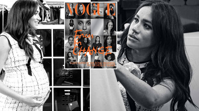 Meghan Markle's guest-edited issue of Vogue gives us a glimpse into the Duchess' hard work