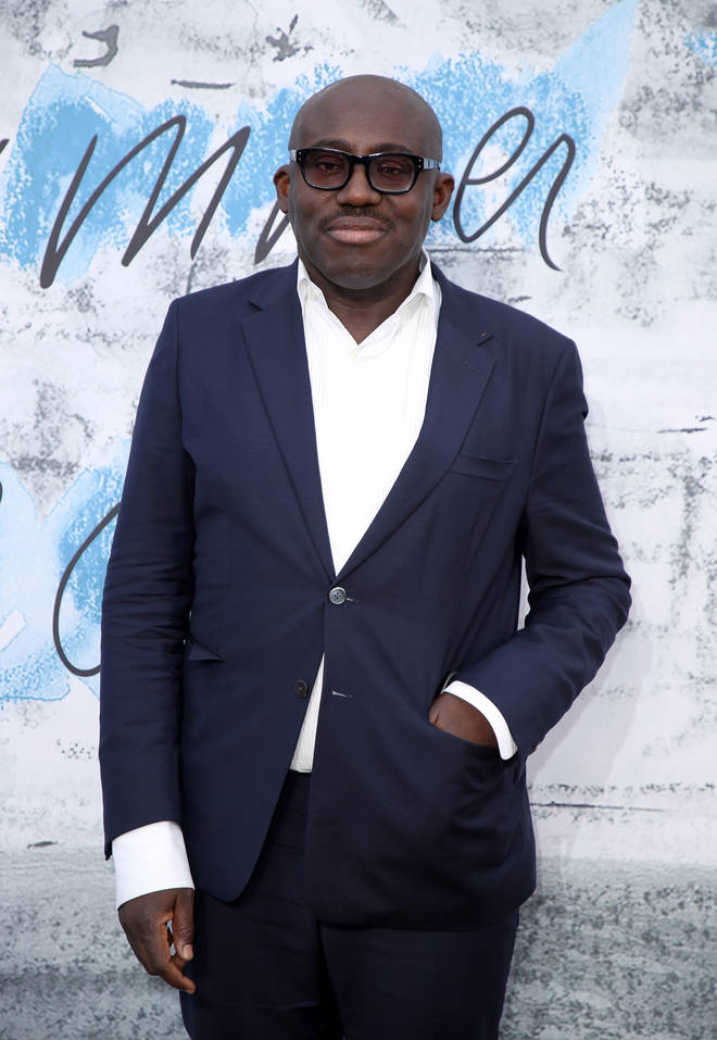 Edward Enninful described how he received a mysterious email from Meghan Markle