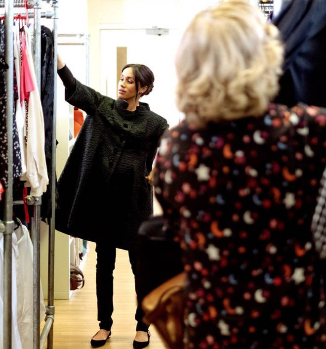 Meghan has even donated some of her own clothes to Smart Works