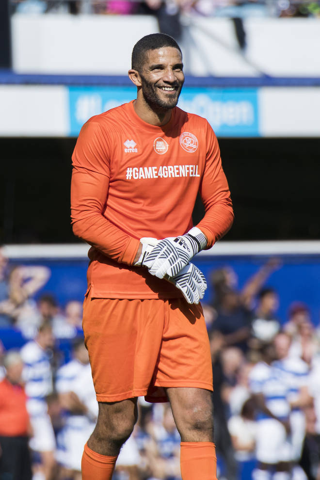 David James has joined the line up