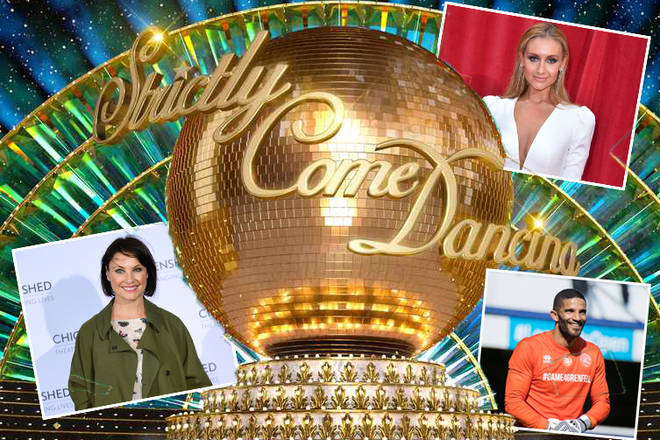 Here's the official Strictly Come Dancing line up
