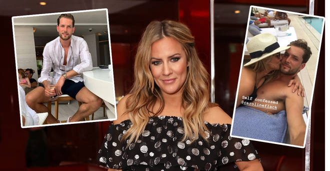 Caroline Flack has gone Insta official with her new boyfriend