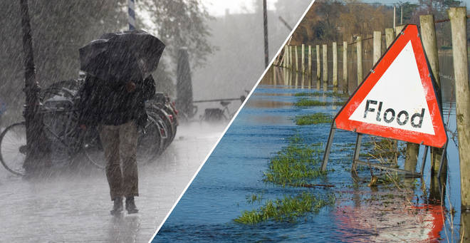 Forecasters have issued a 'danger to life' flood warning