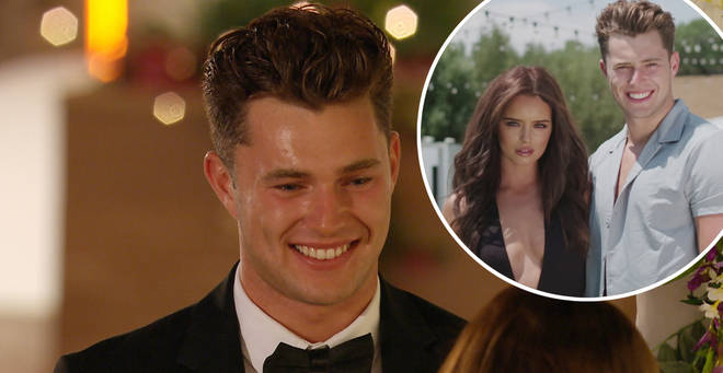 Curtis came fourth on Love Island with his partner Maura