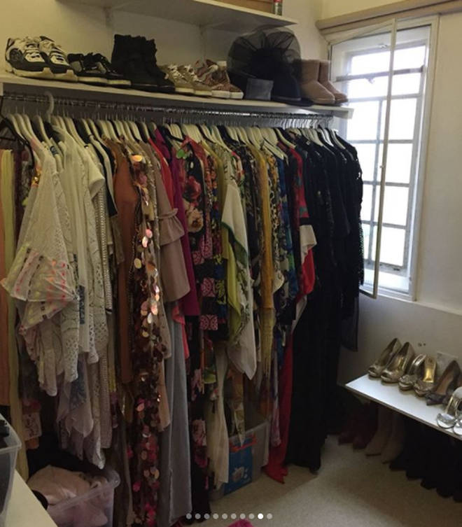 Gemma has loads of clothes, shoes and accessories
