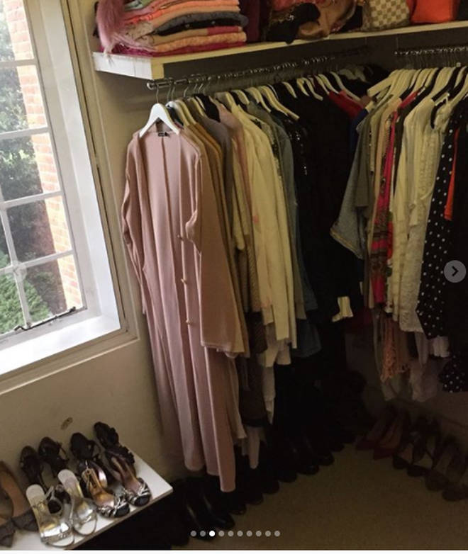 It looks like there's a whole room in the new gaff dedicated as the GC's closet