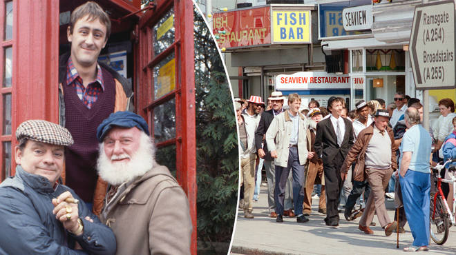 Only Fools and Horses cast reunite in Margate for 30th anniversary of The Jolly Boys' Outing