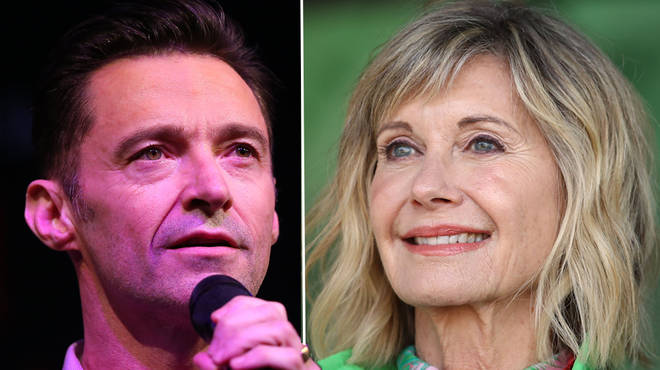 Hugh Jackman pays emotional tribute to Olivia Newton-John after breast cancer diagnosis