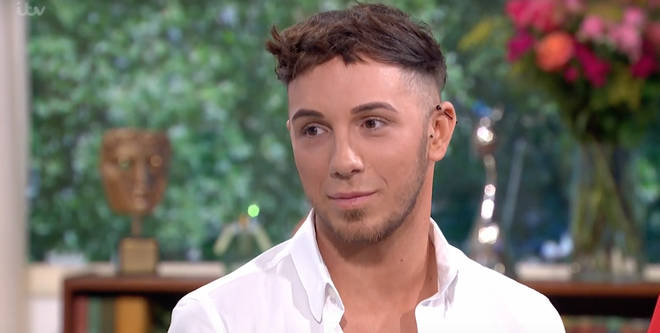 Self-proclaimed 'vainest man in Britain' Sam explained to hosts Ruth Langsford and Eammon Holmes he has used crowdfunding pages previously to help towards a holiday and even new shoes