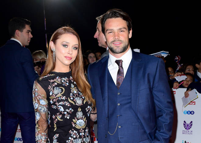 Ben Foden and Una Healy wed in 2012