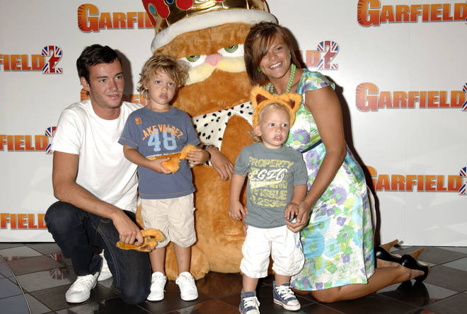 Jade Goody with her sons and partner Jack Tweed in 2006