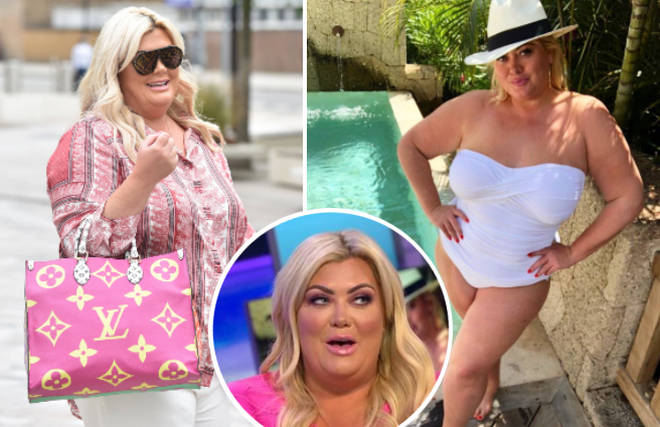 The Essex reality star revealed she has put a stone back on following a string of overindulgent holidays.