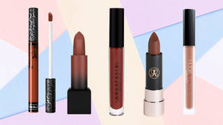 There's a huge selection of gorgeous brown lipsticks on the market