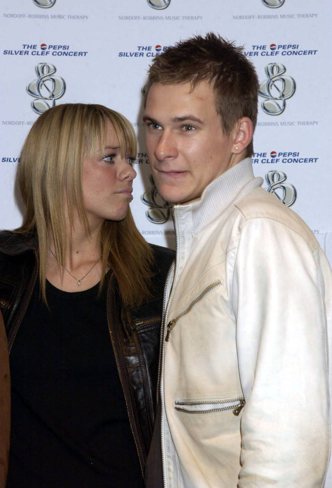 Lee was also engaged to Atomic Kitten's Liz McClarnon for a time