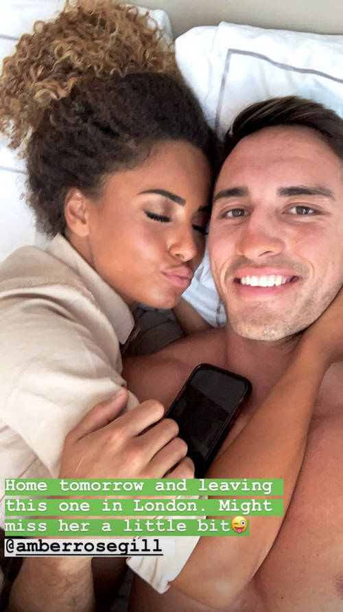Love Island winner Amber Gill pays subtle tribute to Greg O'Shea on