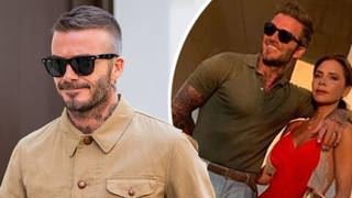 Fans have gone wild over this photo of David Beckham