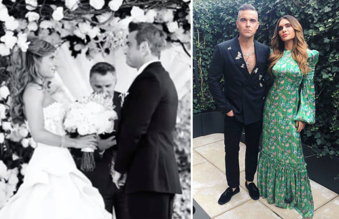 Ayda Field melts hearts as she shares UNSEEN snap of wedding to Robbie Williams