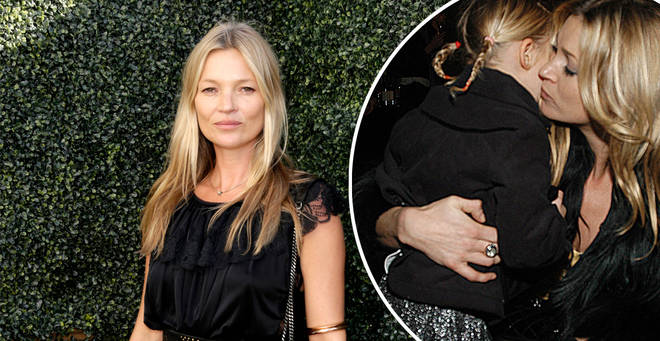 Kate Moss' daughter Lila is following in her mum's model footsteps