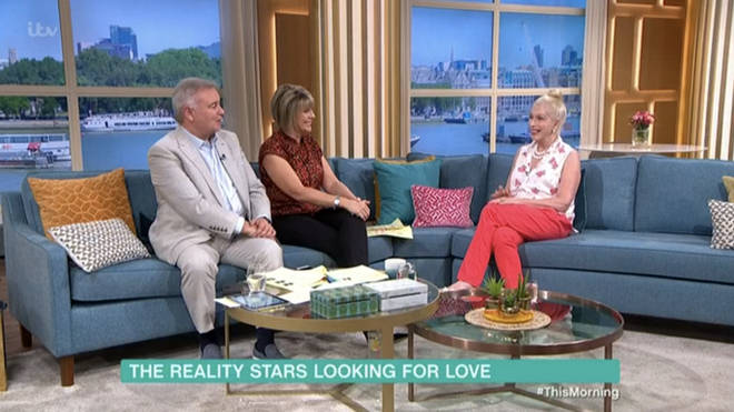 Lady C was left to do the interview alone