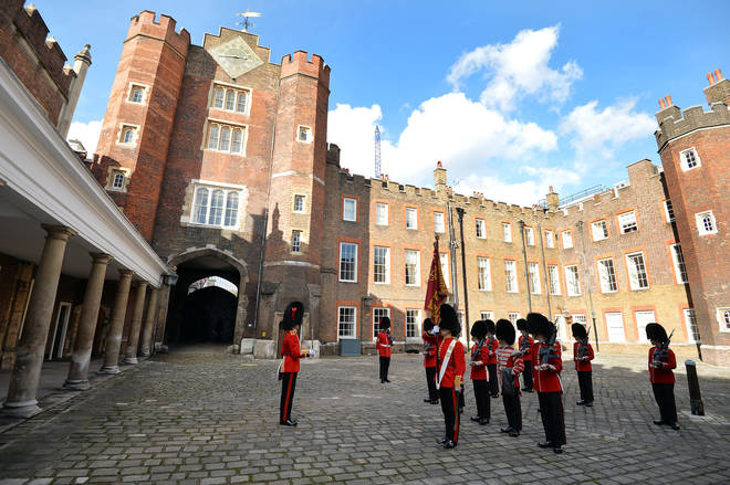 The job is based at St James' Palace