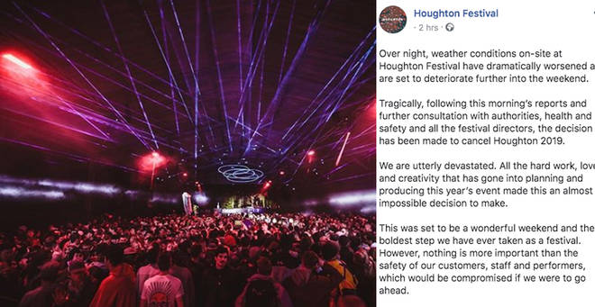 Houghton Festival has been cancelled
