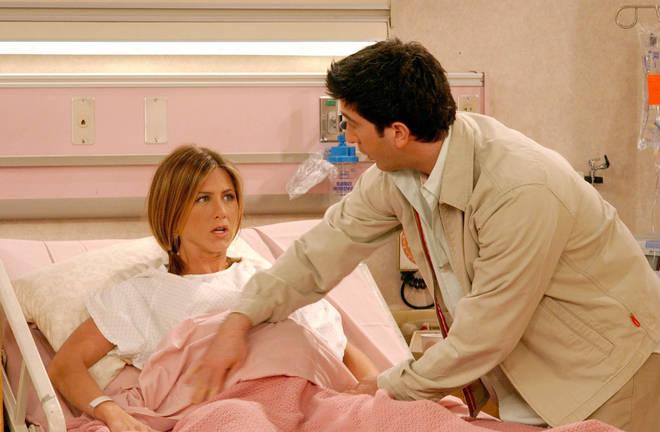 Storyline blunder means Emma is born 12 months after Rachel gets pregnant.