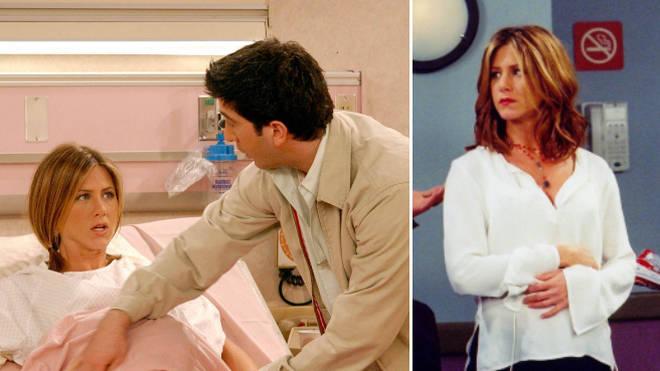 Friends fan spots 'HUGE ERROR' in Rachel's pregnancy timeline as