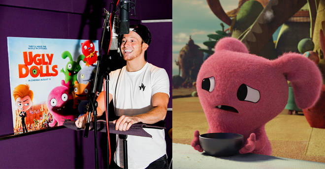 Joe Swash is the voiceover for 'Oliver' in UGLYDOLLS