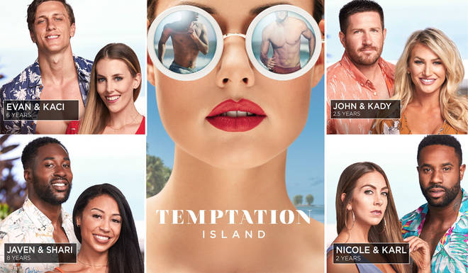Temptation have been labelled a saucier version of Love Island