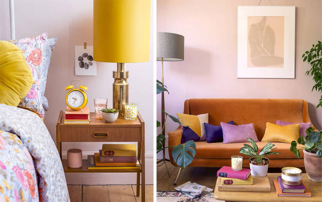 The new collection is full of warm tones