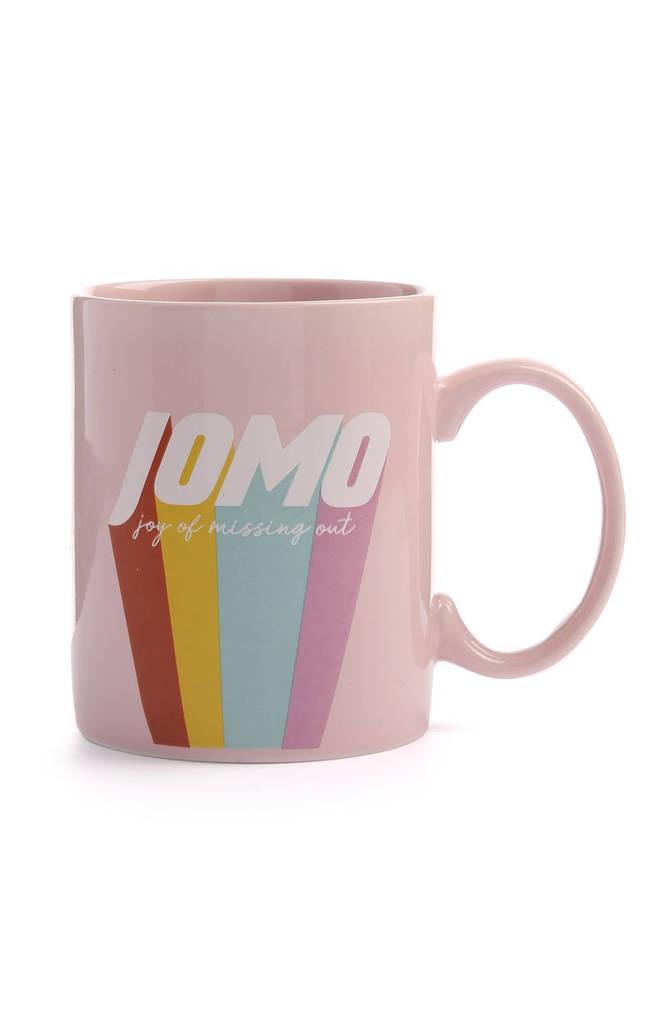 JOMO mug, £2