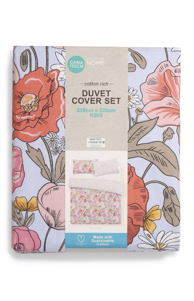 Duvet cover, £11