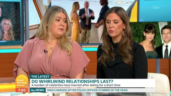 Rebecca and Lara debated Ben Foden's whirlwind romance