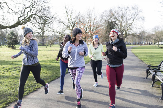 Running in a group or on your own is equally beneficial and fun