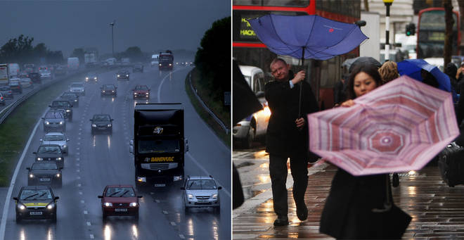 Britain is set for a wet and windy weekend