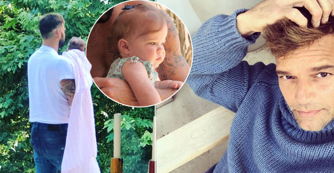 Ricky Martin shares first adorable photo of nine-month-old daughter Lucia